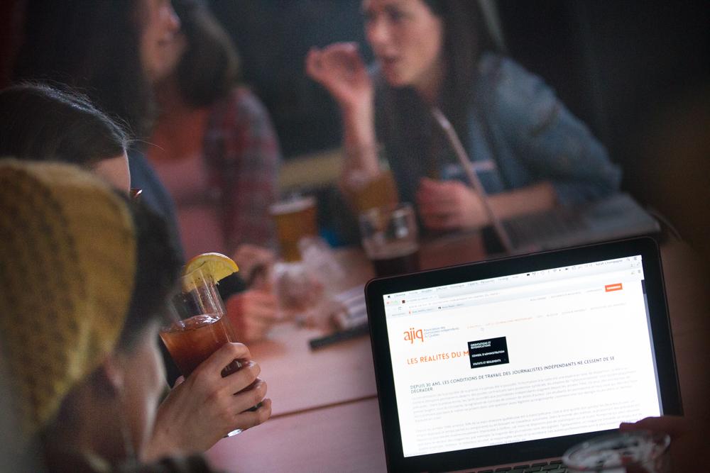 L'AJIQ présente son tout nouveau site web à ses membres!